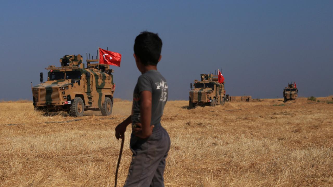 Αποτέλεσμα εικόνας για τουρκική εισβολή Συρία