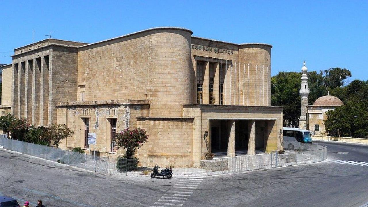 Το Εθνικό Θέατρο Ρόδου στο έλεος του χρόνου | Το Κουτί της Πανδώρας