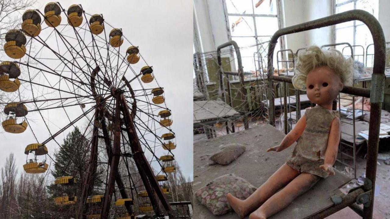 Το Τσερνόμπιλ σήμερα - Φωτογραφίες από την ερημωμένη πόλη που προκαλούν  ανατριχίλα   Το Κουτί της Πανδώρας