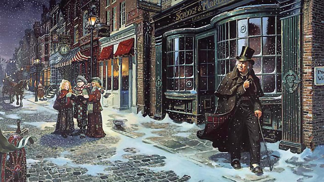 Αποτέλεσμα εικόνας για χριστουγεννιατικη ιστορια ντικενς
