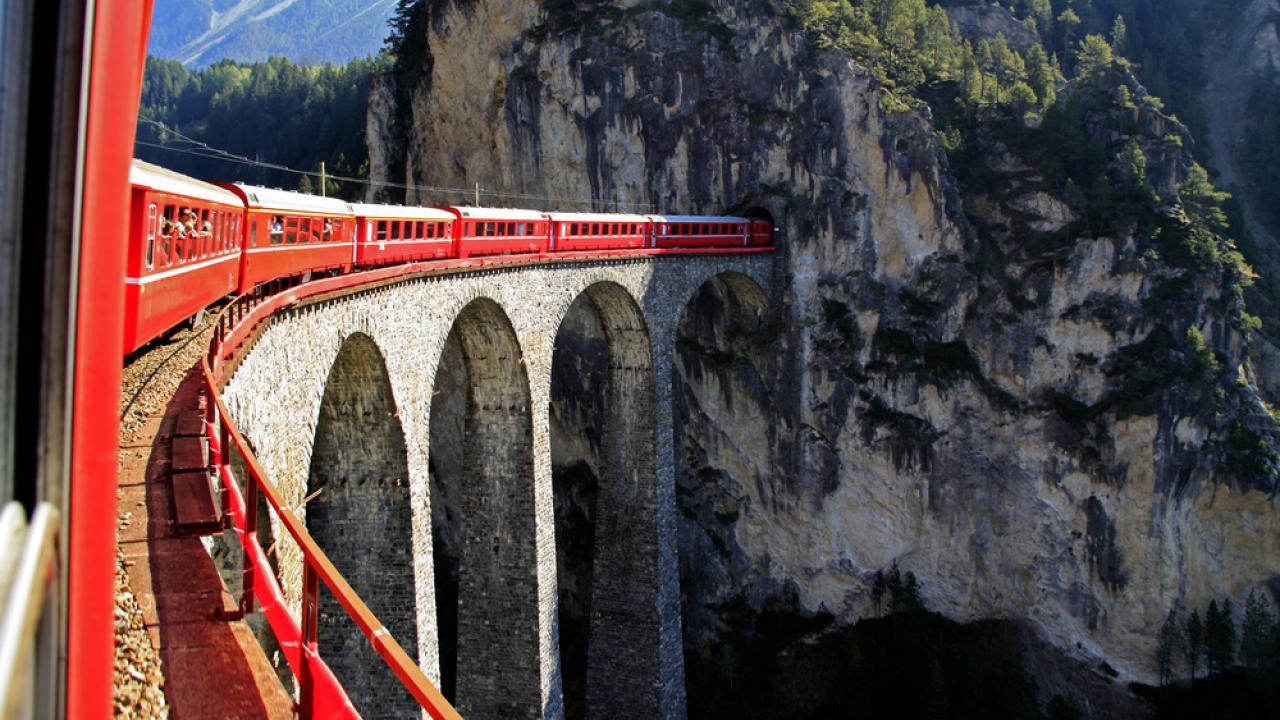 Ретийский железнодорожный маршрут